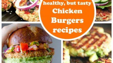 5 chiken burgers recipes