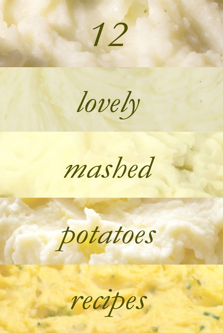 mash potato recipes