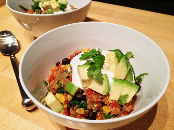 MainsOven Baked Mexican Quinoa Casserole