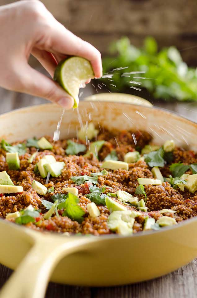 Light Taco Quinoa Skillet
