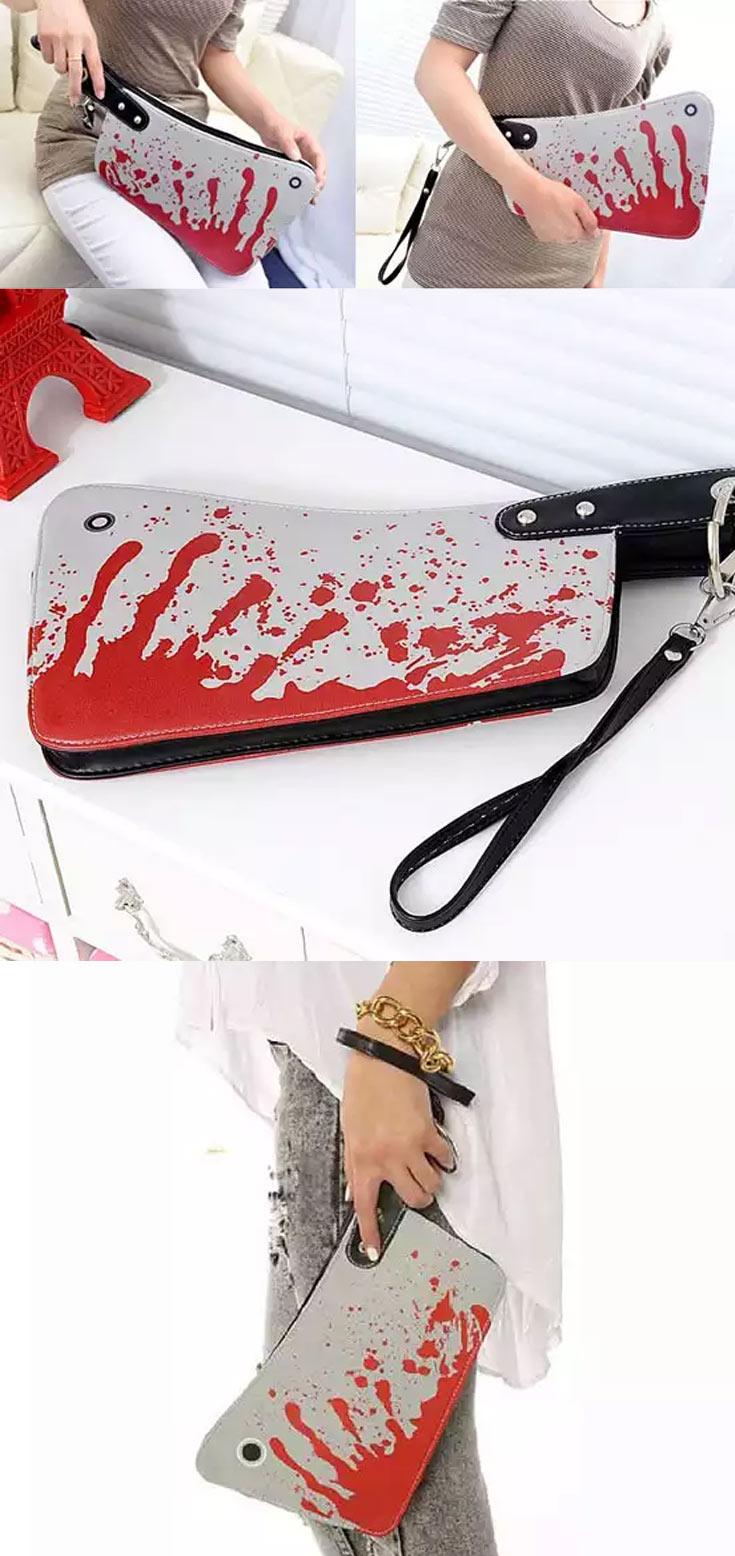 bloody purse
