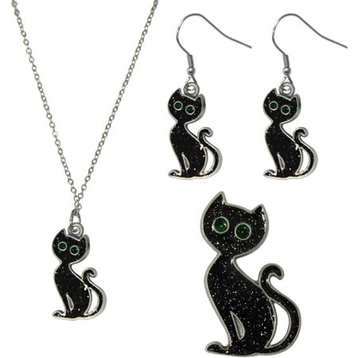 black cat jewelry