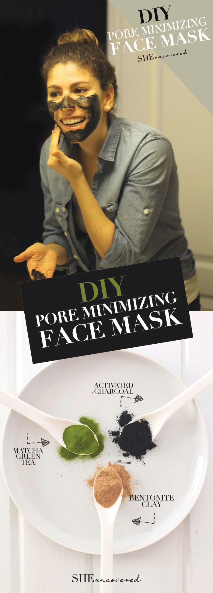 Diy Pore Minimizing Face Mask