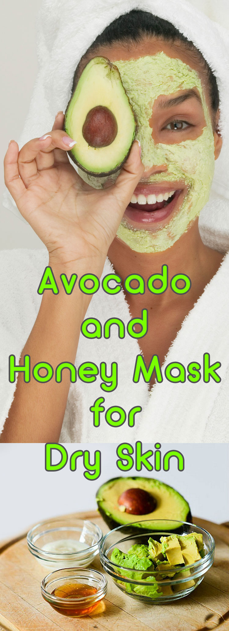 Avocado and Honey Mask for Dry Skin