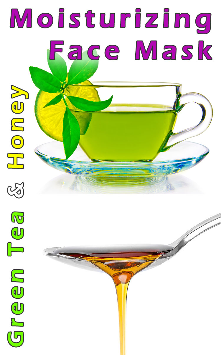 Moisturizing Green Tea and Honey Face Mask