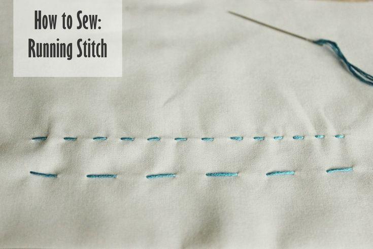 11 - running stitch