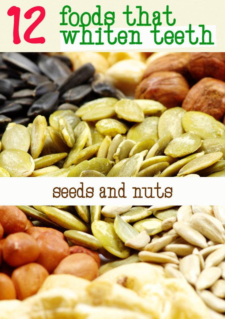 seeds and nuts good for teeth