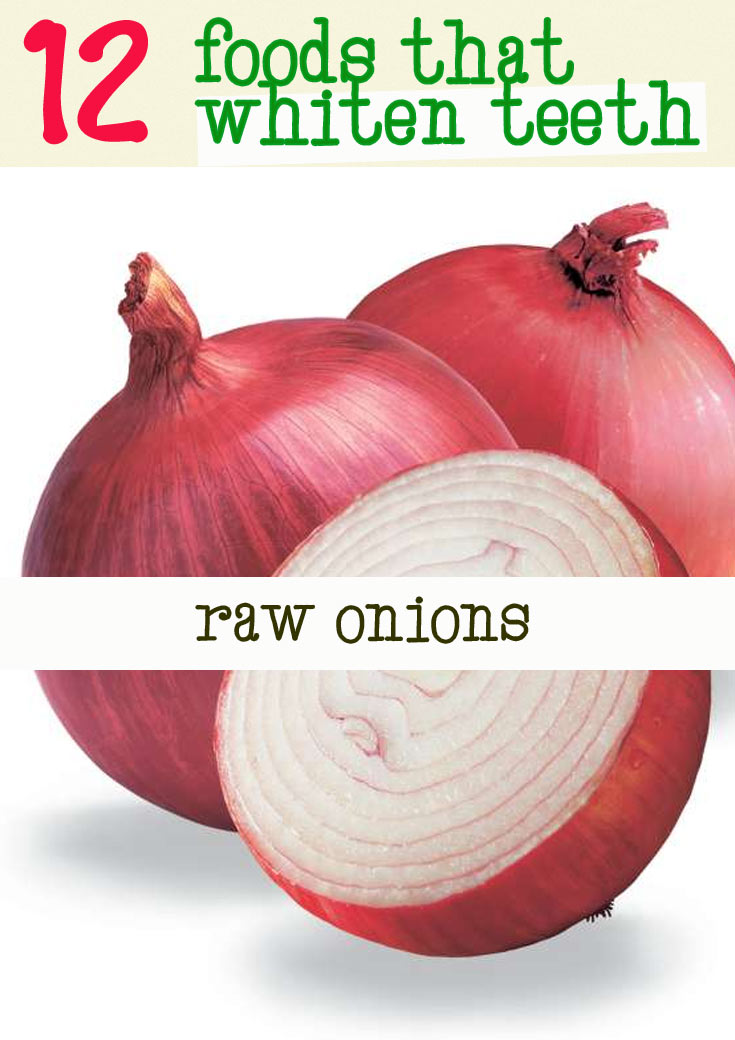 onions good for teeth