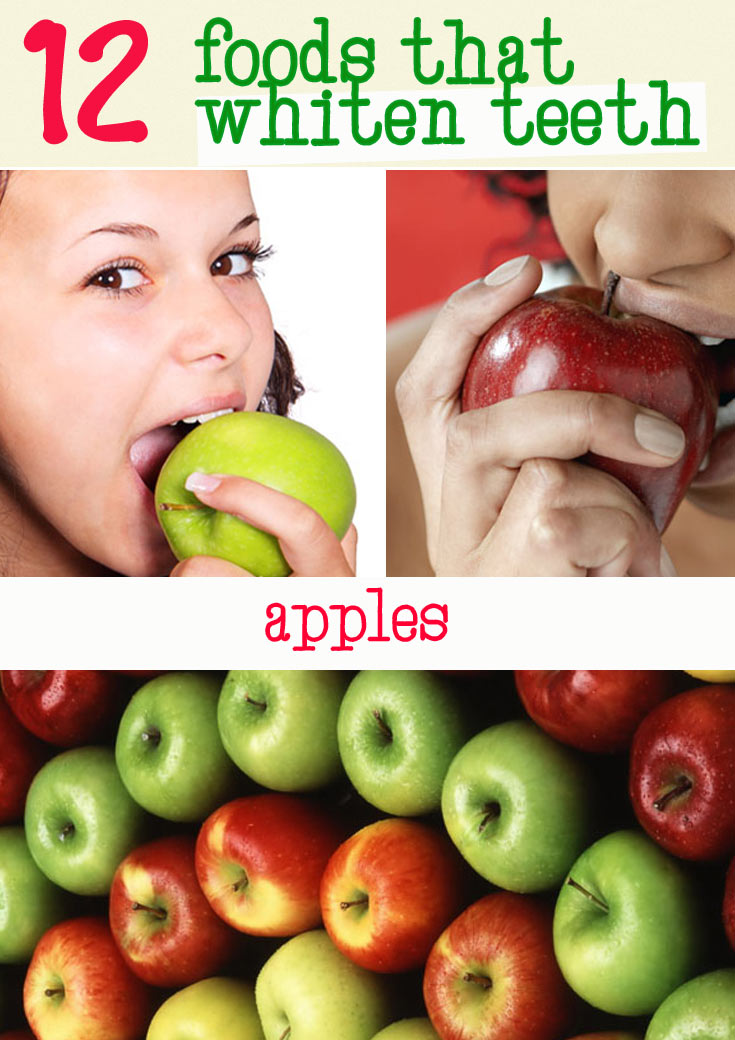 apples whiten teeth