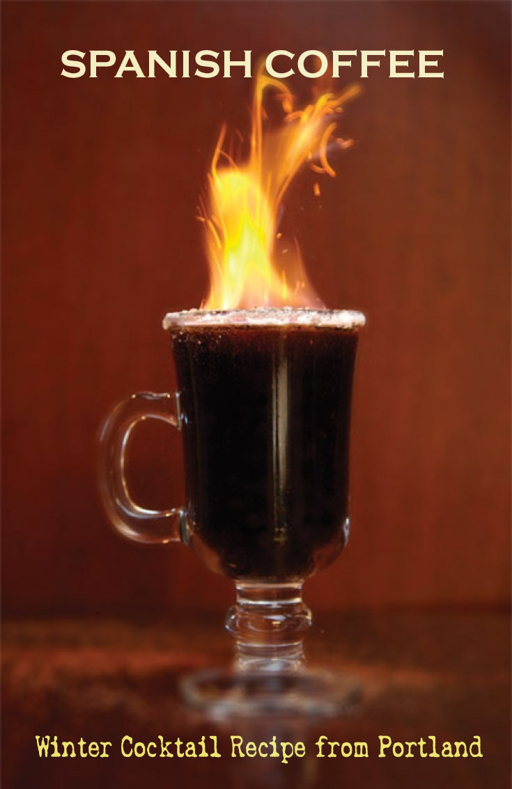 spanish coffee recipe portland