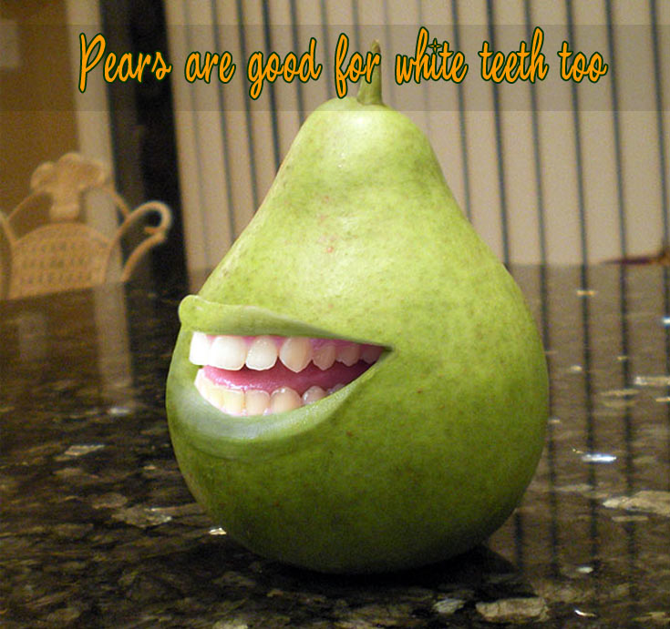 pears teeth