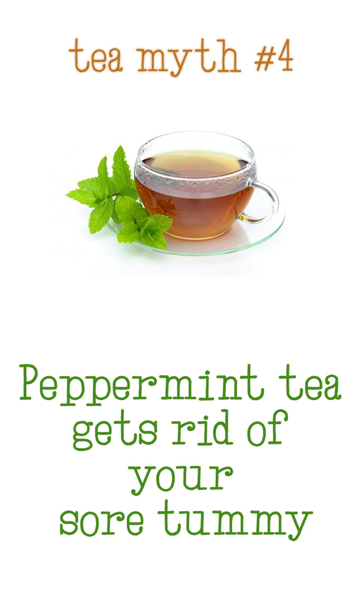 peppermint tea myth