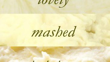 mash potato recipes