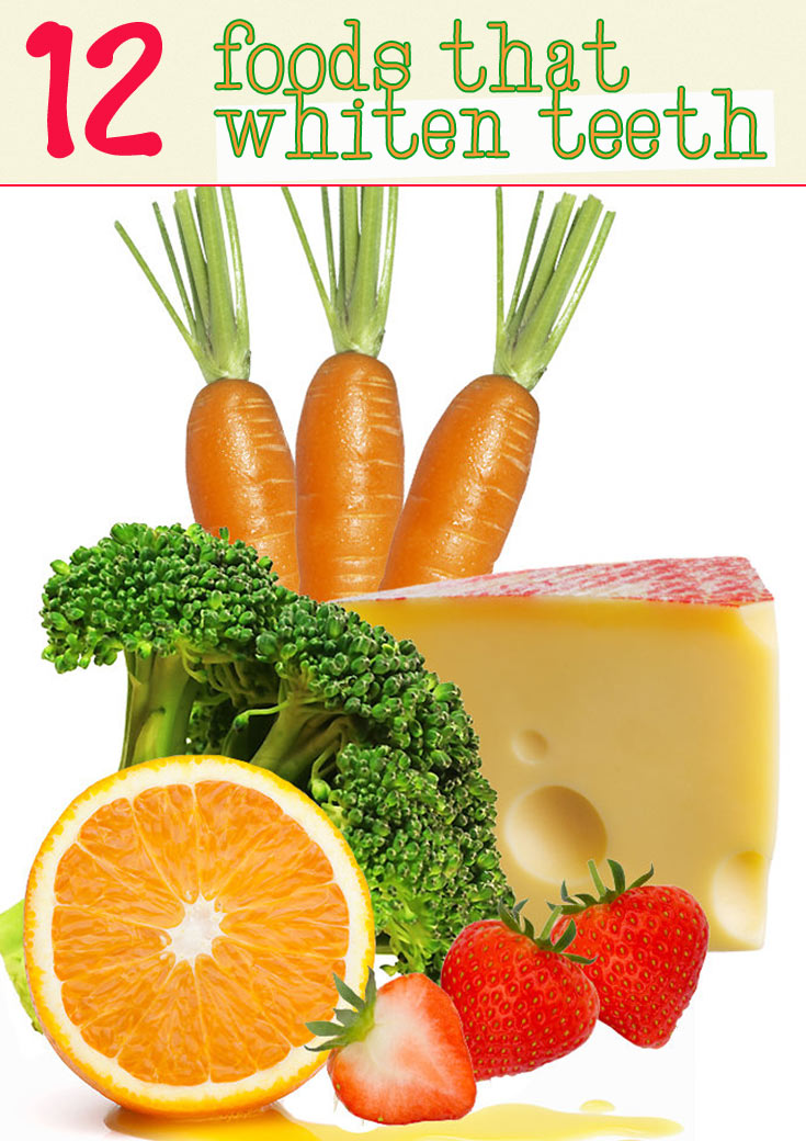 foods that whiten teeth